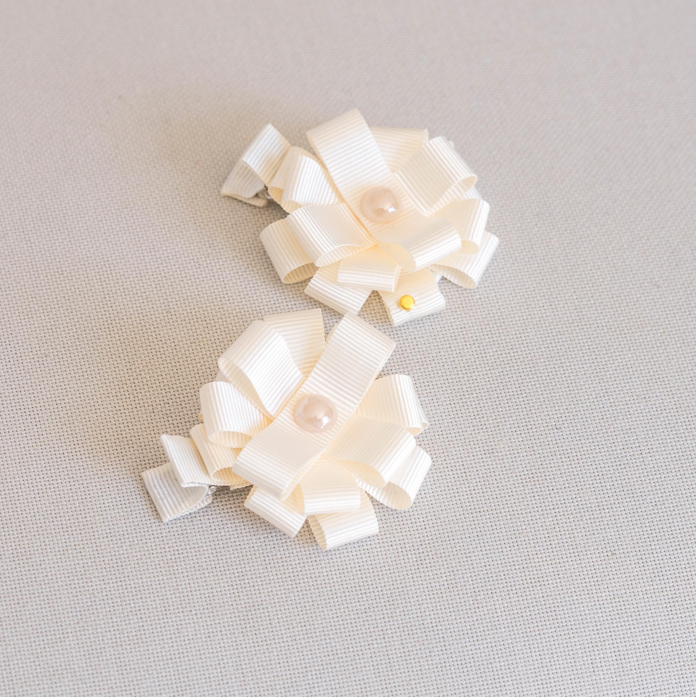 Flower Hair Clips Petite Maison