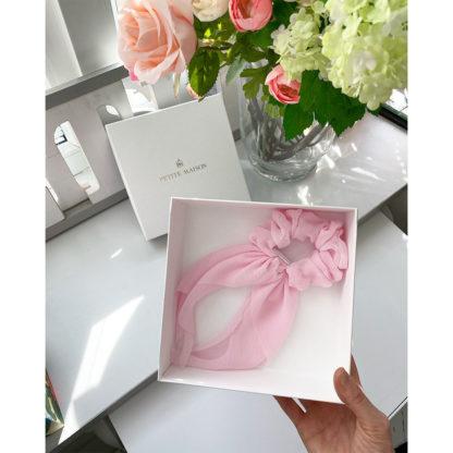 Gumka różowa do włosów Petite Maison