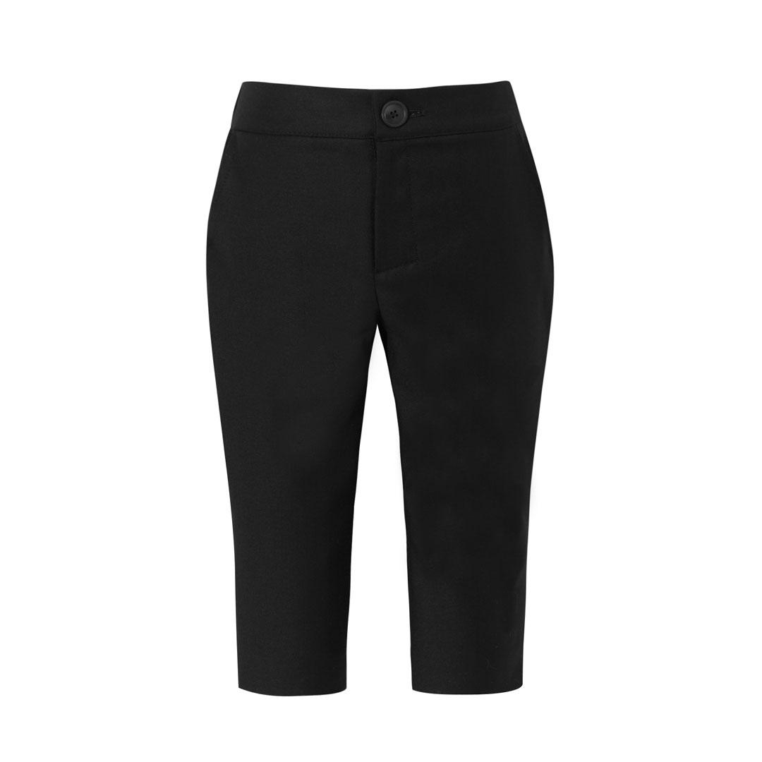 Spodnie długie czarne do garnituru dziecięcego
