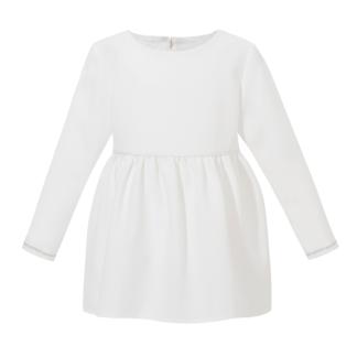 biała tunika bluzka dla dziewczynki