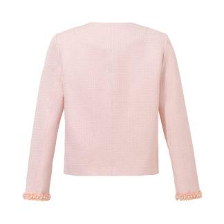 Różowy żakiet Gabrielle dla kobiet tył
